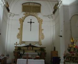 Interno cappella del Conservatorio