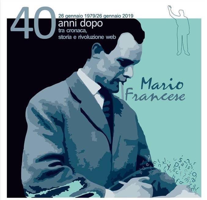 Mario Francese 40 anni dopo, il ricordo di un giornalista coraggioso che raccontava la mafia