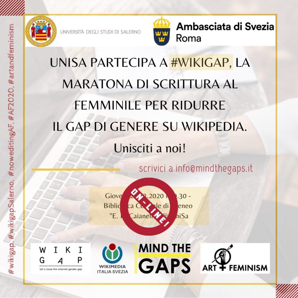 WikiGap 2020 Salerno, Quarantena E Maratona Di Scrittura
