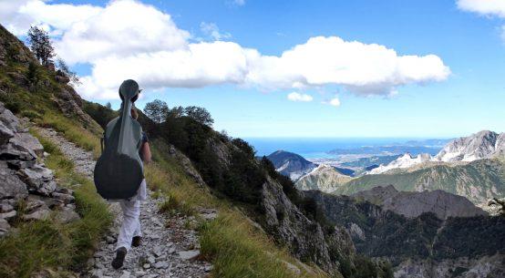 Carrara sentiero trekking